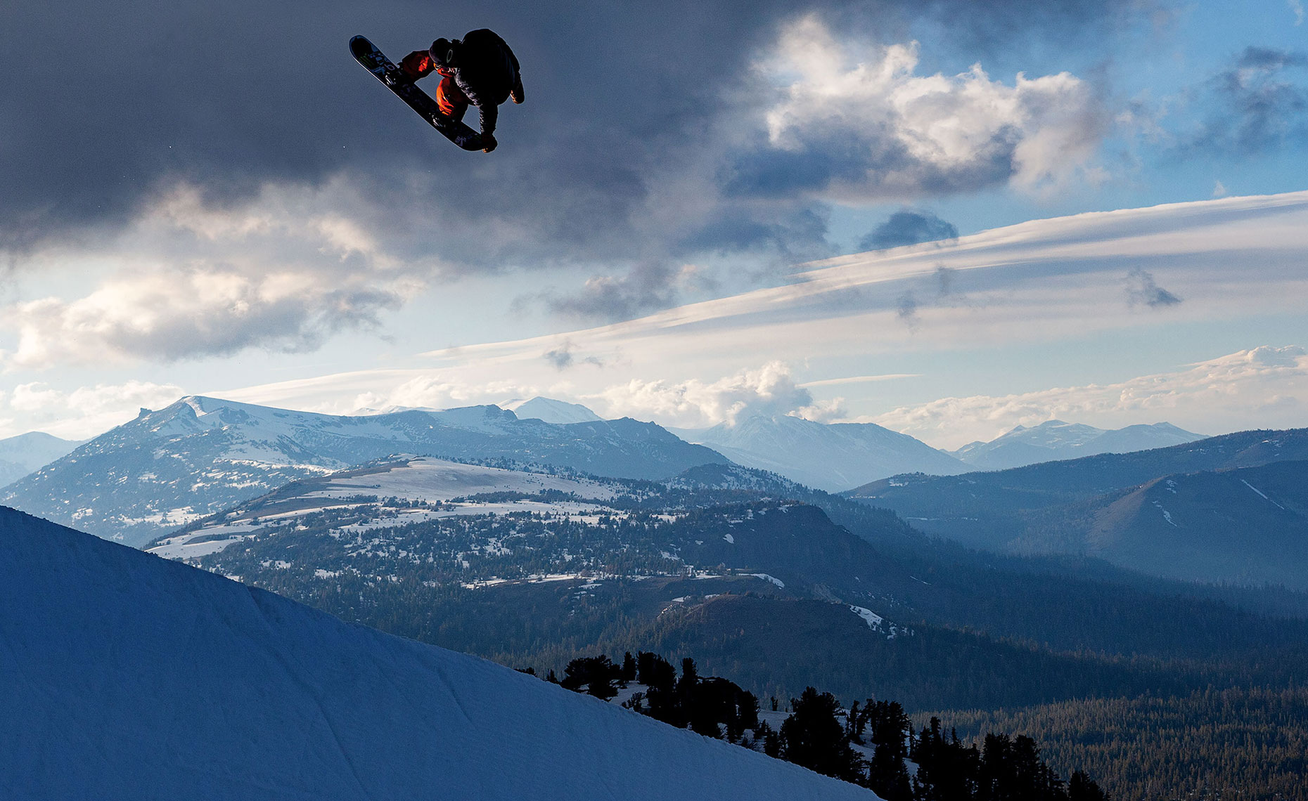 Ayumu Hirano. Mammoth Mountain, California. Photo: Chris Wellhausen